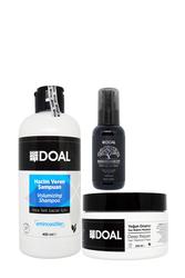 Doal - Doal Hacim Veren Şampuan 400 ml + Yoğun Onarıcı Maske 250 ml + Macadamia & Argan Elixir Serum 100 ml