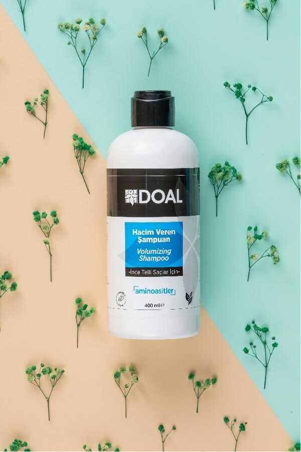 Doal İnce Telli Saçlar İçin Hacim Veren Şampuan 400 ml
