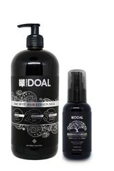 Doal Keratin Bakım Sütü Siyah 1000 ml + Macadamia & Argan Elixir Saç Bakım Serumu 100 ml - Thumbnail