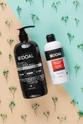 Doal Keratin Bakım Sütü Siyah 1000 ml + Yıpranmış Saçlar İçin Yoğun Onarıcı Şampuan 400 ml - Thumbnail