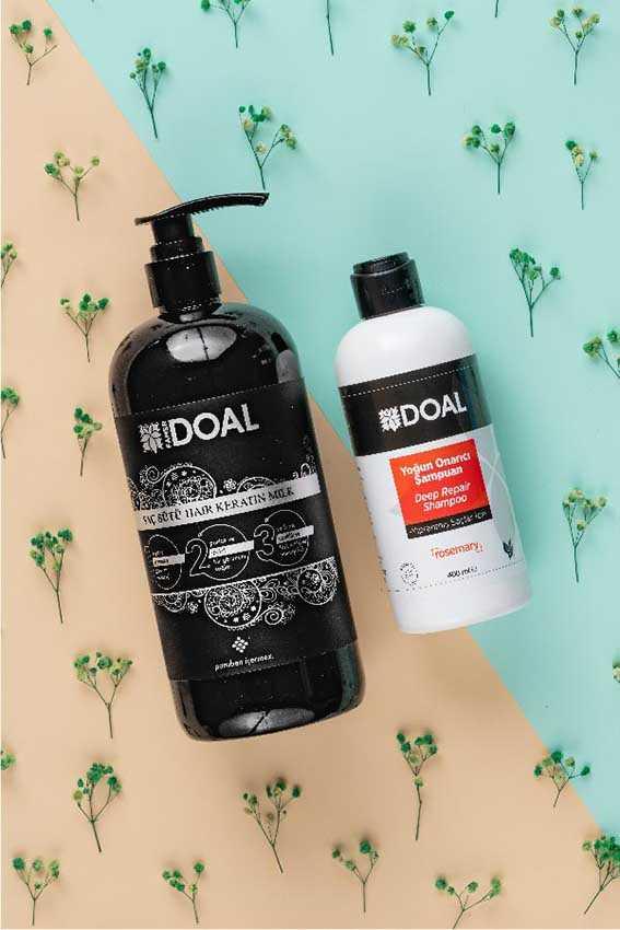 Doal Yıpranmış Saçlar İçin Yoğun Onarıcı Şampuan 400 ml