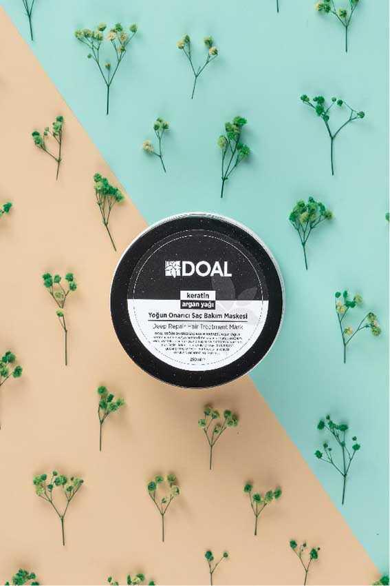 Doal Yoğun Onarıcı Saç Bakım Maskesi Keratin & Argan 250 ml