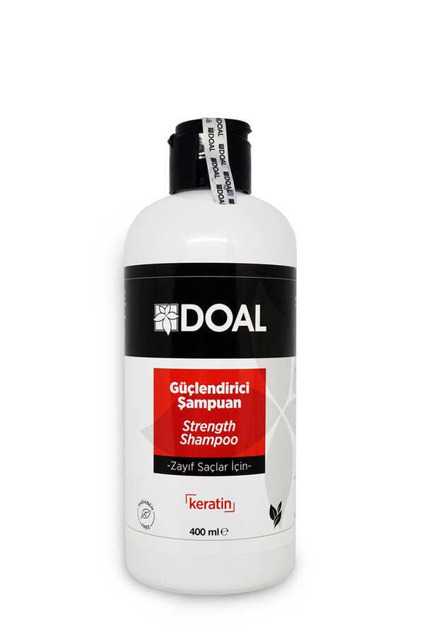 Doal Zayıf Saçlar İçin Güçlendirici Keratin Şampuanı 400 ml